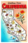 California Map Greetings