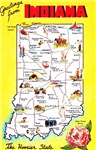 Indiana Map Greetings