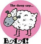 The Sheep Says Baa