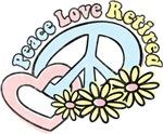 Peace Love Retired