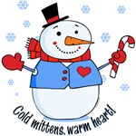 Cold Mittens Snowman