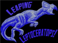 Leaping Leptoceratops!