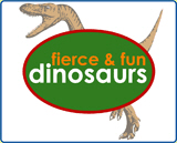 fierce and fun dinosaurs