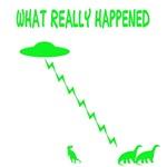 Funny Kids T Shirts-Dinosaurs extinction theme