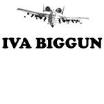 A-10 Warthog T-Shirts Iva Biggun theme