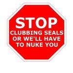 Seal clubbing Anti Canadian Greenpeace shirts