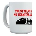 Religious parody Noah's ark picture mugs