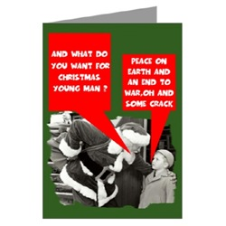 Humorous Christmas Card for users of Crack