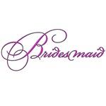 Bridesmaid - white