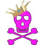 Pink Pirate Royalty T-shirts & Gifts