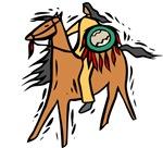 Native American Horse Rider