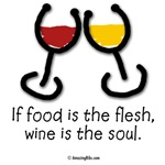 Wine is the soul