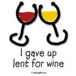 I gave up lent for wine