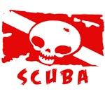 rebreather dive skull