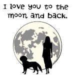 I Love You (Dog) To The Moon and Back