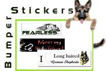 Bumper stickers & stuff.