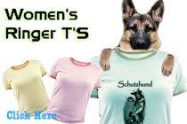 Women's and Girl's Ringer T'S