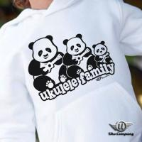 Ukulele Panda Family