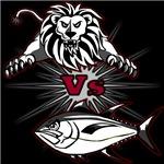 Lion Vs Tuna