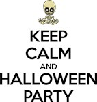 Keep Calm and Halloween Party