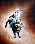 Western Rodeo Cowboy, Bull Rider