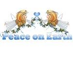 Peace On Earth Angel Christmas