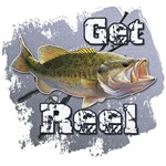 Get Reel Bass Fishing T-shirts and Gifts Sportsman