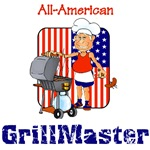 Humor All American Grillmaster Patriotic Summer Th