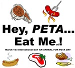EAT A TASTY ANIMAL for PETA