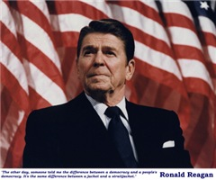 Reagan on