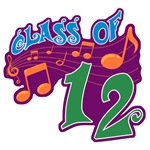 Class of 12 Musical T-Shirts and Apparel