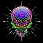 Crazy Skull Psychedelic Explosion