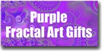 Purple Fractal Art Gifts