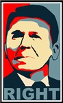 Ronald Reagan Bumper Stickers and T-Shirts