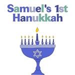 Personalized Hanukkah Menorah