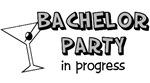 Bachelor Party t-shirts & gifts
