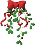 Christmas Mistletoe t-shirts & gifts