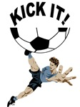 Kick It soccer t-shirts & gifts