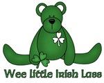 Wee little Irish Lass t-shirts & gifts