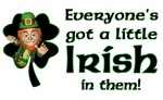 Everyone's got a little Irish in them