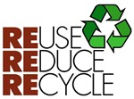 Reuse Reduce Recycle shirts & gifts