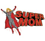 Super Mom t-shirts & gifts