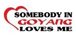 Somebody in Goyang loves me