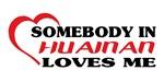 Somebody in Huainan loves me