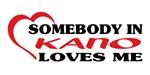 Somebody in Kano loves me