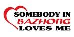 Somebody in Bazhong loves me