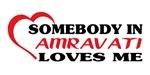 Somebody in Amravati loves me