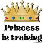 Princess in training t-shirts & onesies