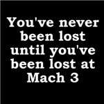 Lost at Mach 3