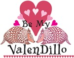Armadillo Valentine's Day